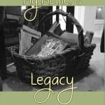 What legacy are you leaving your children? My mother taught me to love time with the Lord. Praying to leave the same for own children.