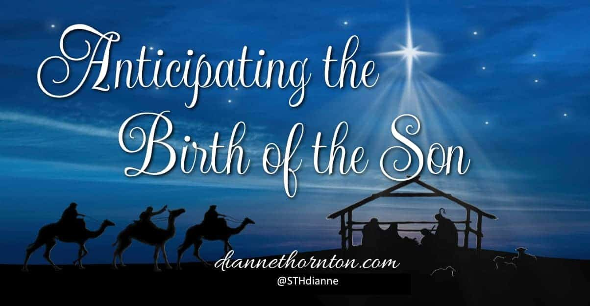 Christmas Day is fast approaching. Consider what it may have been like for Mary and Joseph as they were anticipating the birth of the Son.