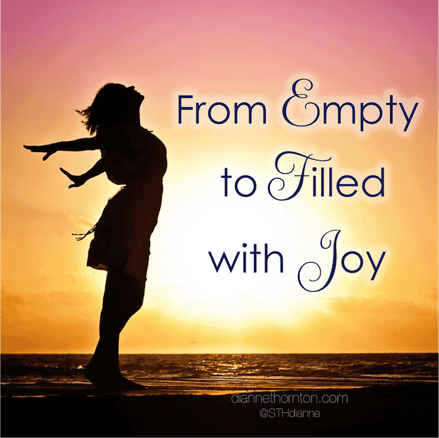 We can distance ourselves from God when we harbor sin--leaving us feeling empty. But God wants us to move from empty to filled with joy, through confession.