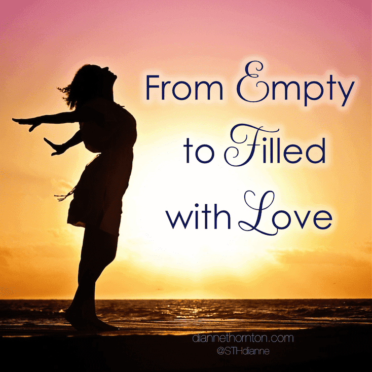 Hearts glow when love is new. When love becomes stale, we can find our hearts feeling empty. But we can move from empty to filled with love.