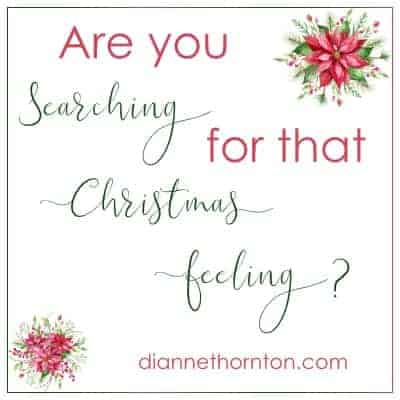 When twinkle lights, shopping, music, friends, and family don't spark that Christmas feeling, what are we to do? Can we capture it?