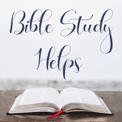 Bible Study Helps